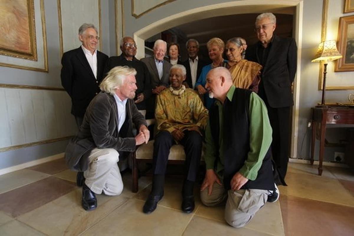 Image result for Richard Branson Peter Gabriel
