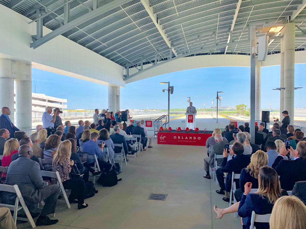 Work begins for Virgin Trains USA connecting Miami and