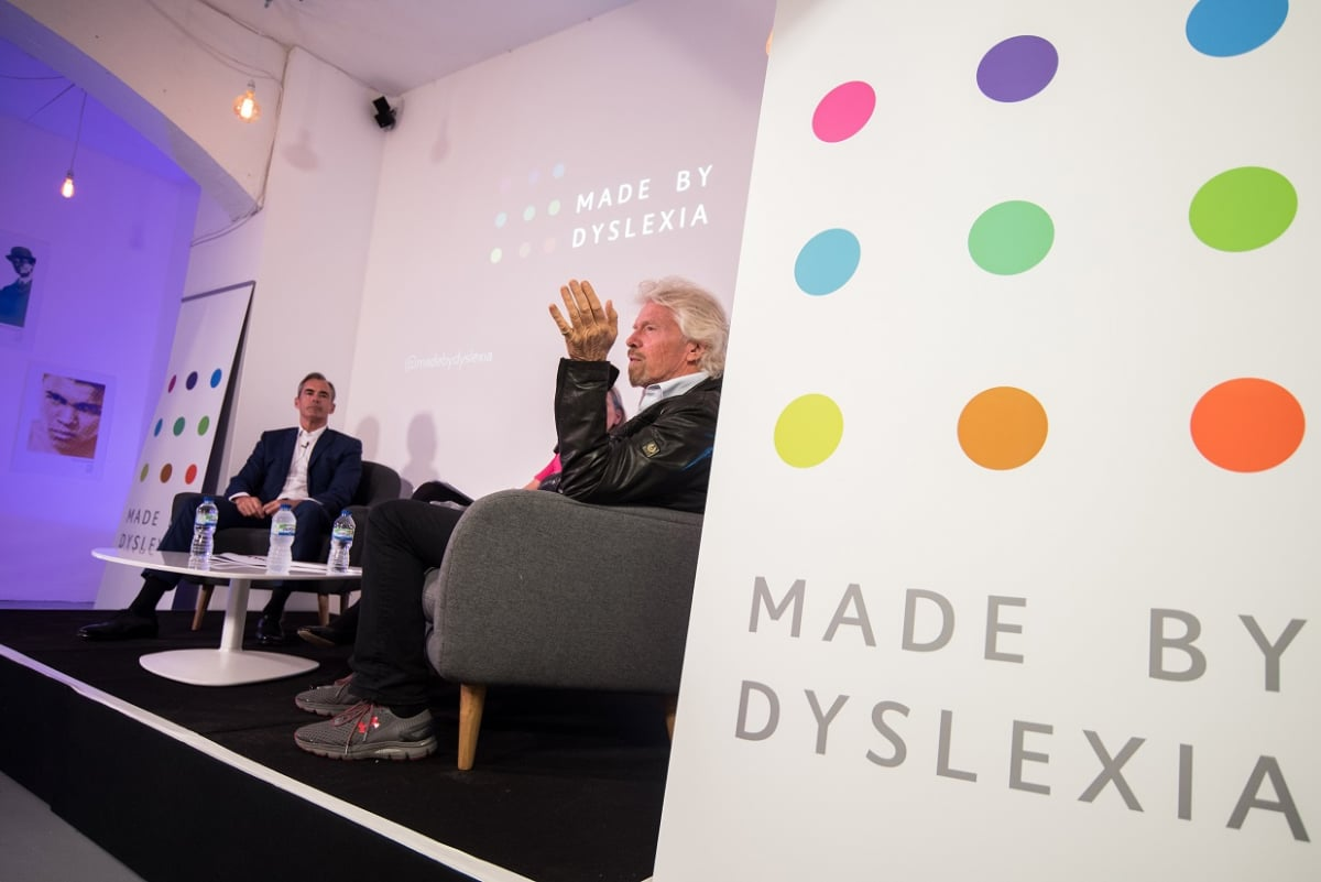 Millions Have Dyslexia Few Understand It >> Supporting The Launch Of Made By Dyslexia Virgin