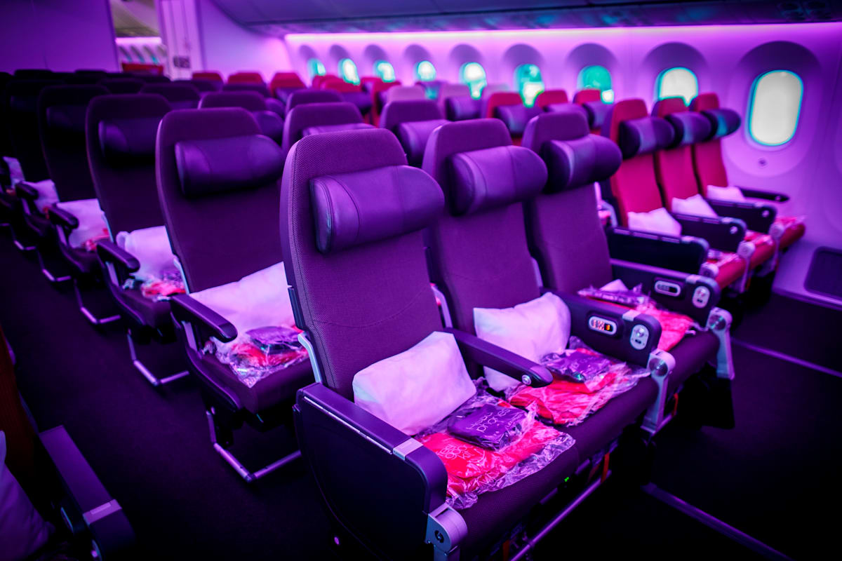 Image result for virgin atlantic economy meals
