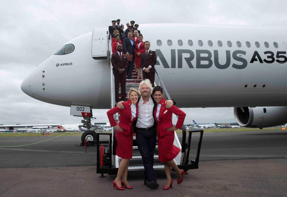 Virgin Atlantic announces order for new Airbus 350-1000 | Virgin
