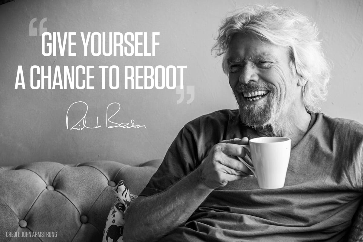 Give Yourself A Chance To Reboot Virgin