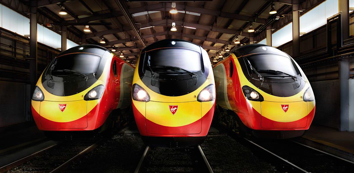 trains homepage Virgin