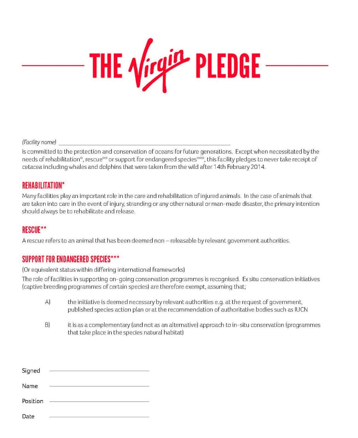 Amusing pledges of virginity advise