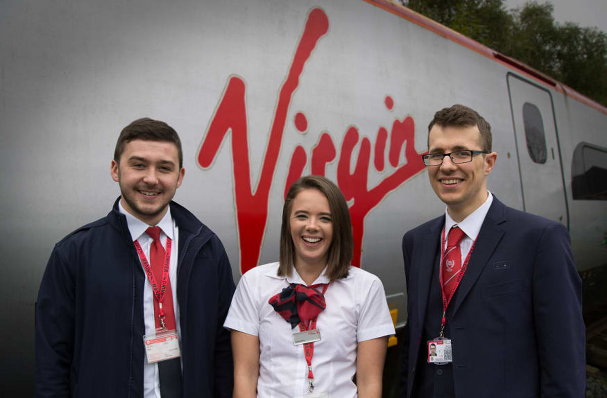 Virgin Trains launches first ever train driver