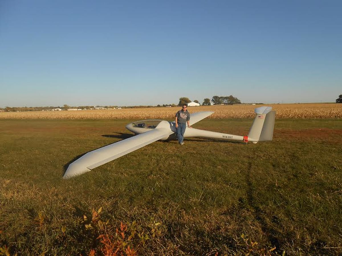 Balancing life between data science and gliders | Virgin
