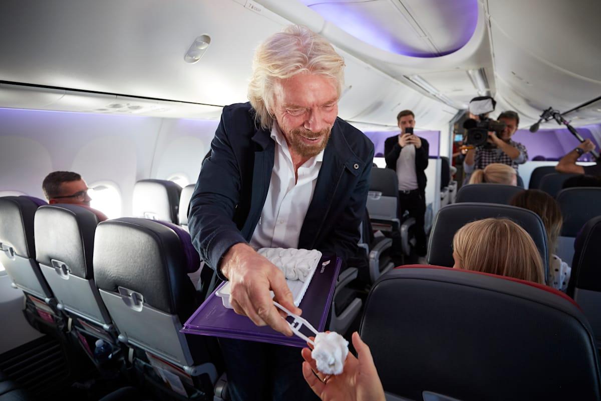The world's first meditation flight | Virgin