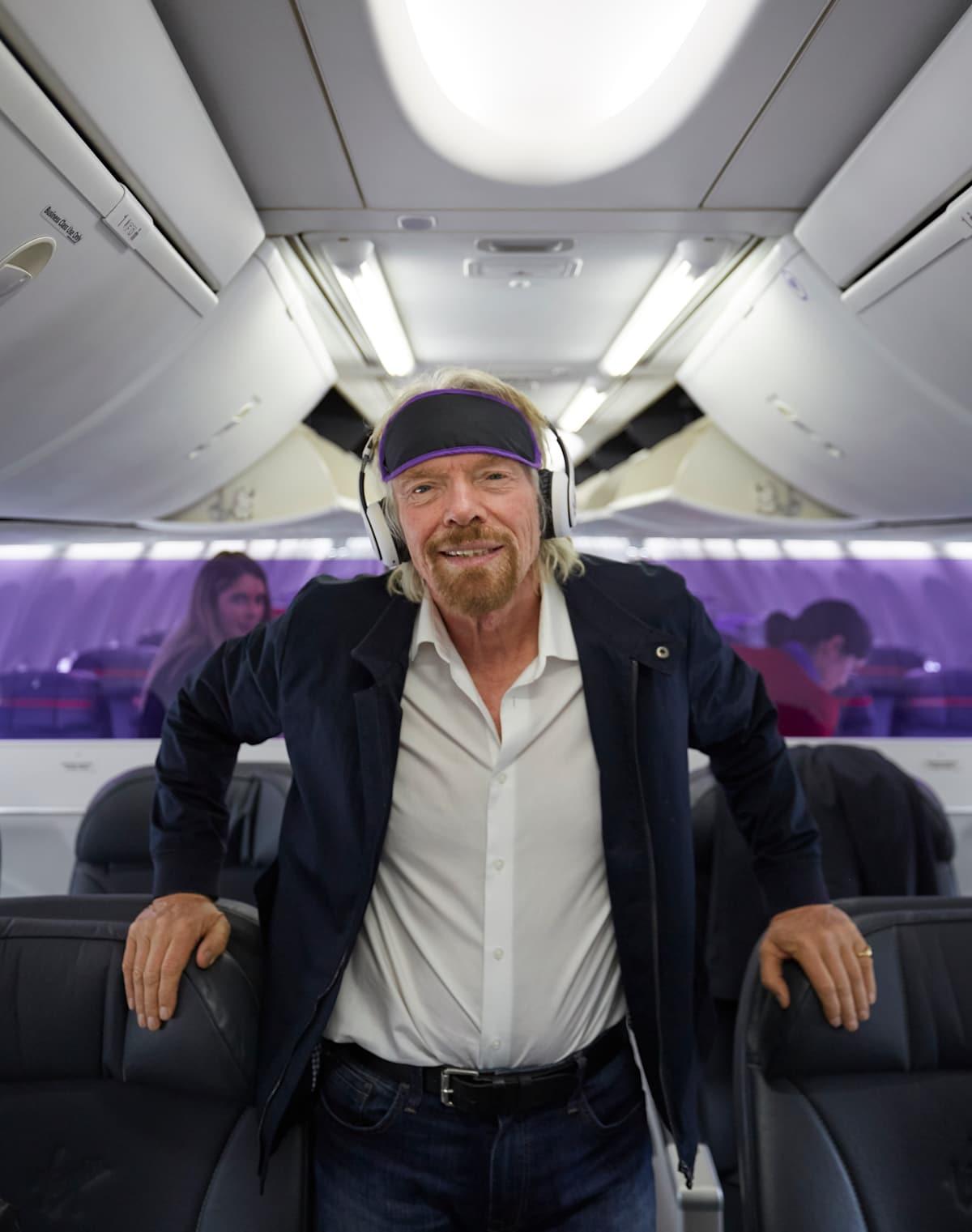 The world's first meditation flight   Virgin