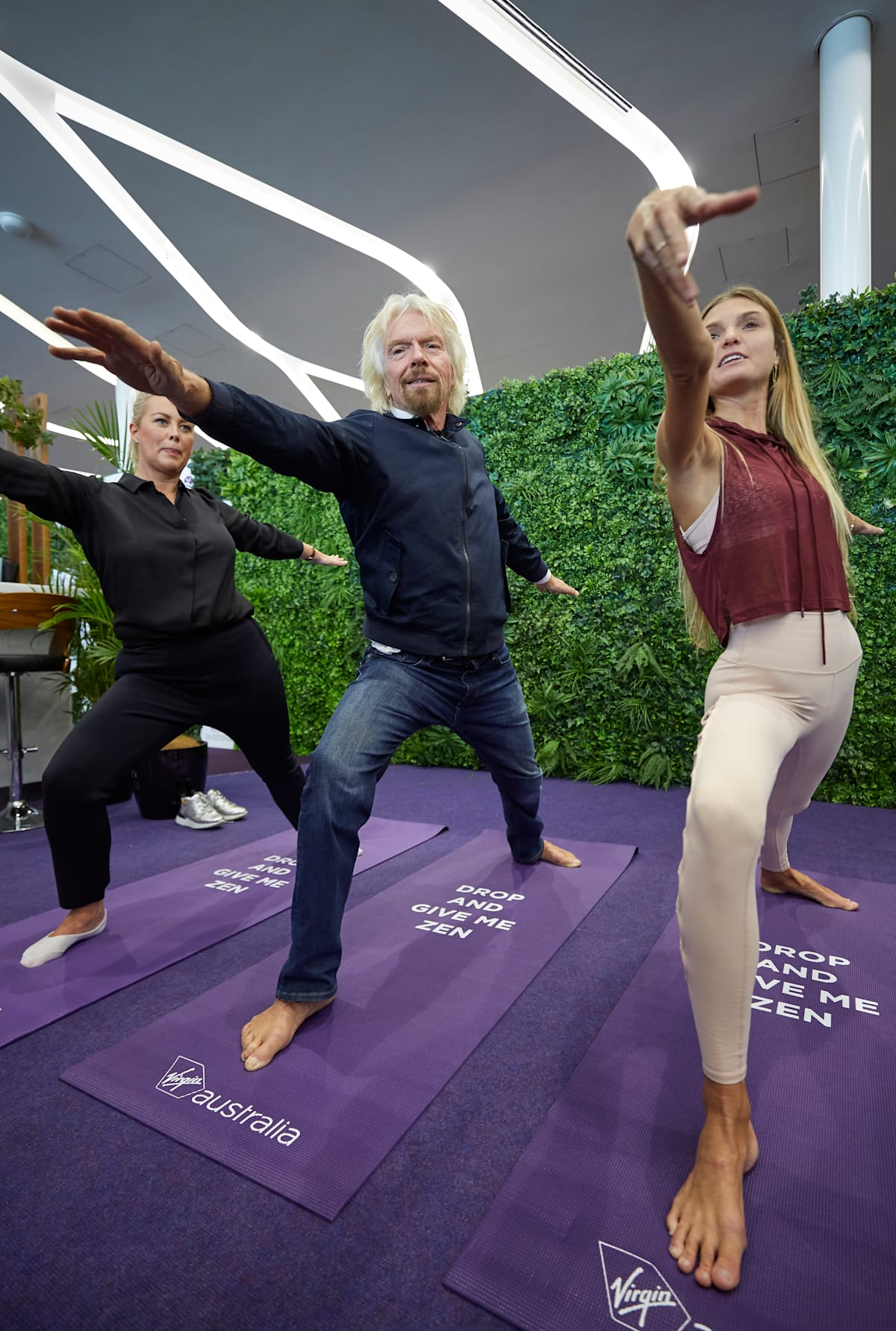 The world's first meditation flight | Virgin
