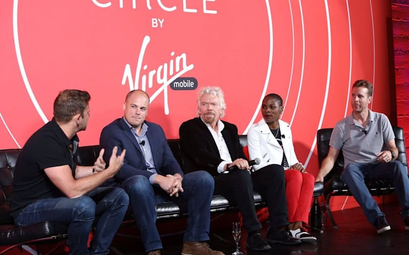 Richard Branson and Chase Jarvis