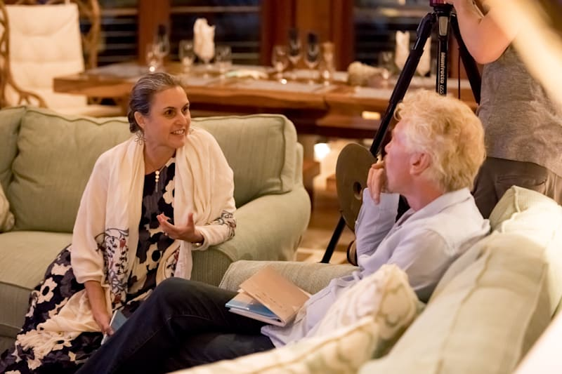 2020 UltraMarine Ocean Summit - Richard Branson - Karen Sack - Ocean Unite