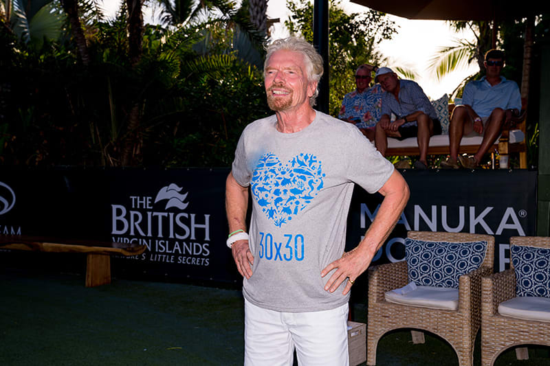 Richard Branson - Ocean Unite T-shirt - 30x30 Love