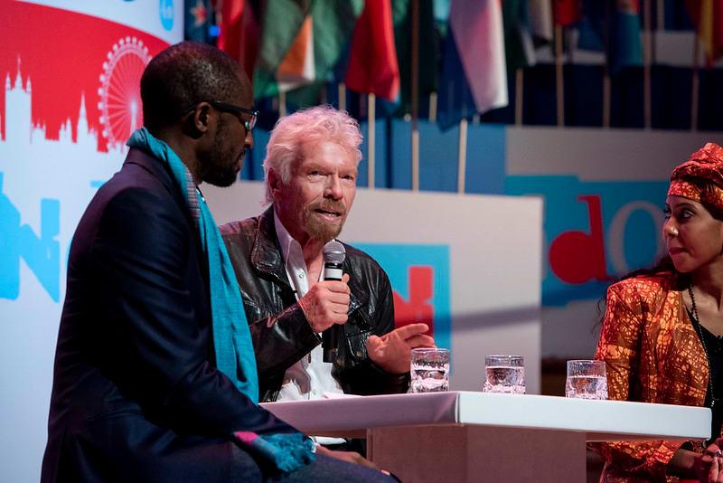 Richard Branson One Young World 2019