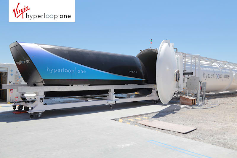 Image from Virgin Hyperloop One