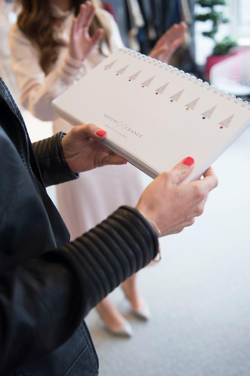 Holly Branson - Advent of Change braille calendar