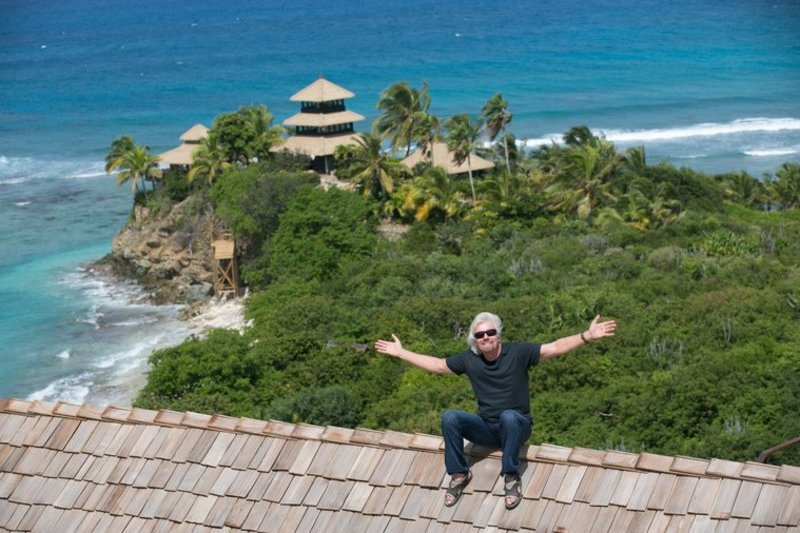 How I bought Necker Island