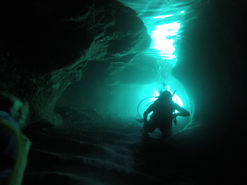 Cave Diving In The British Virgin Islands