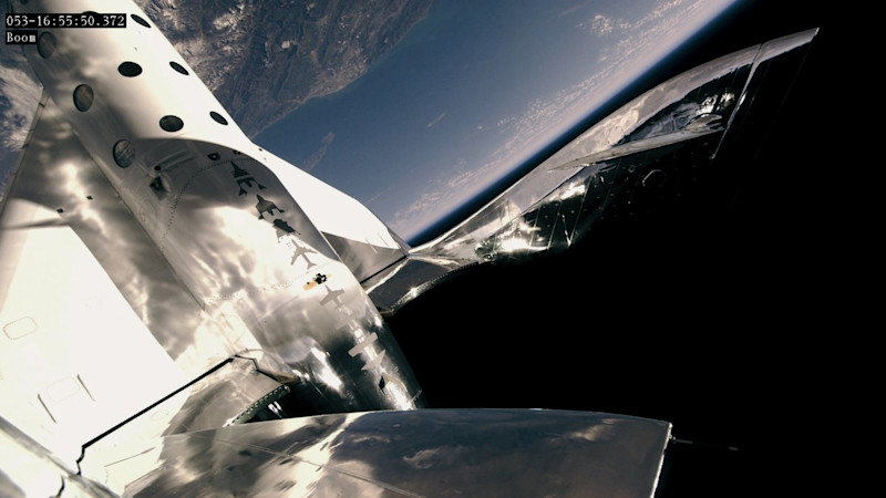 Virgin Galactic's second spaceflight – and the first Scot in space!