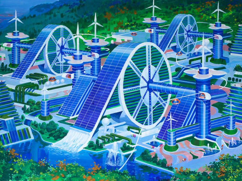 Commissions of utopia north koreas visions of the future virgin reheart Gallery