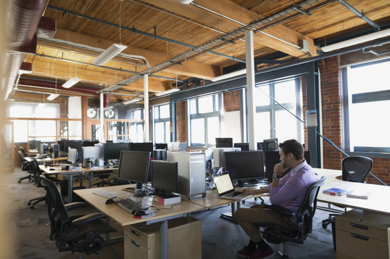 Are people starting to reject the open plan office virgin - Signe different open office ...