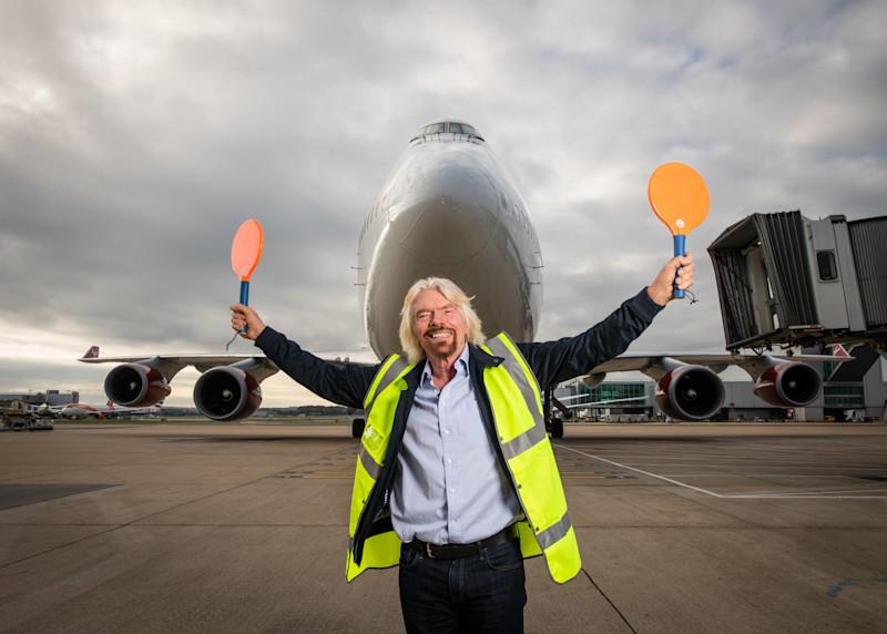 Virgin Atlantic flies the first ever commercial flight using