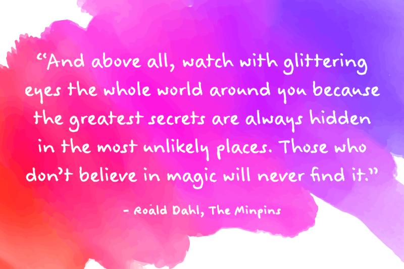 Roald Dahl Quotes Extraordinary My Top 48 Roald Dahl Quotes Virgin