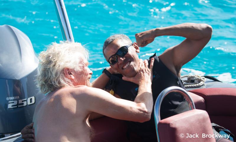Richard vs Barack - kiteboard and foilboard challenge