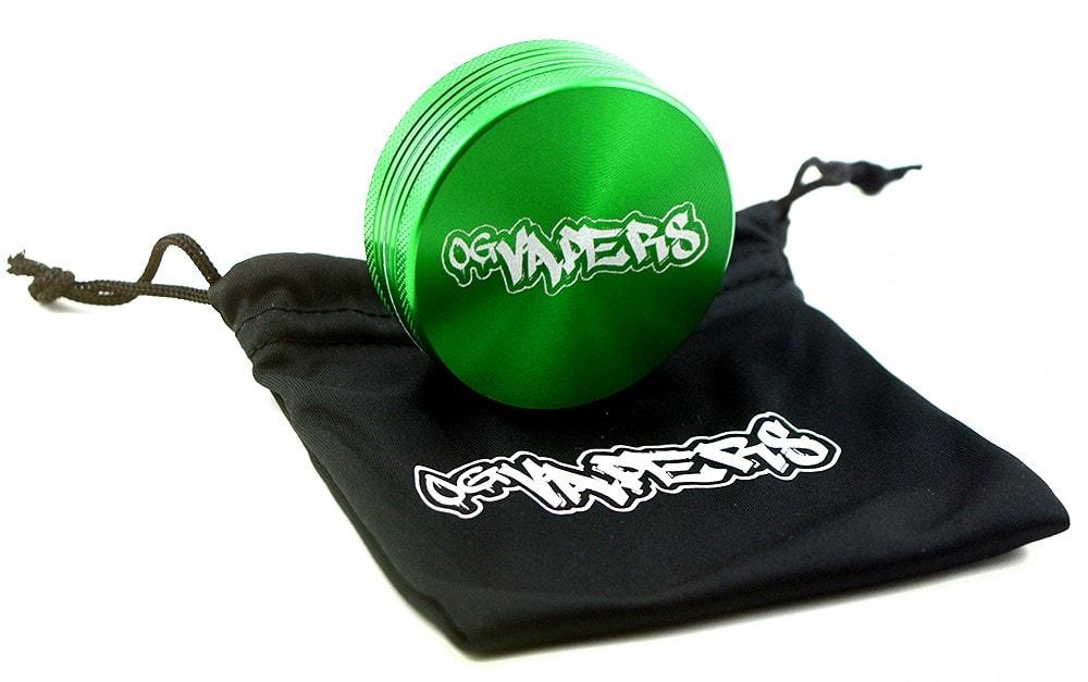 OG Vapers 2-piece Grinder - Green