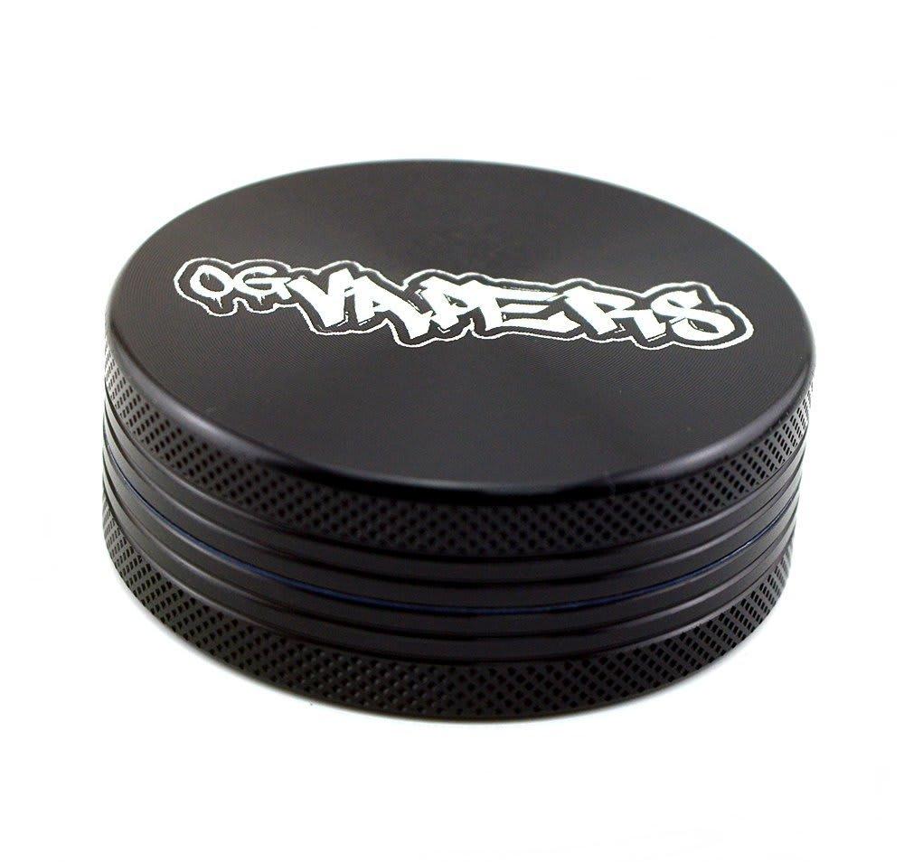 OG Vapers 2-piece Grinder - Black