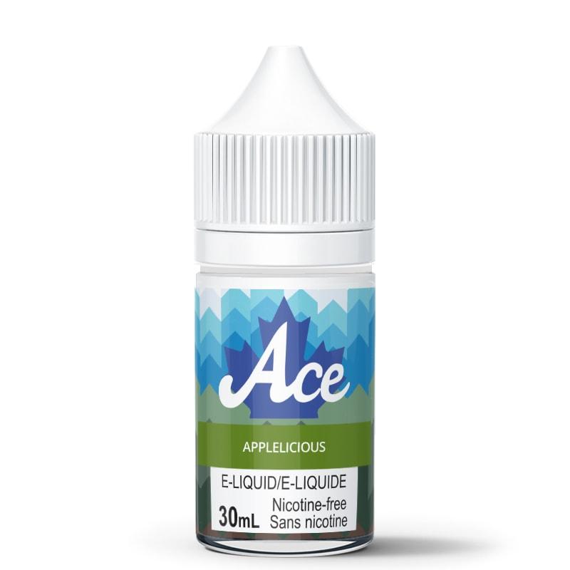 Applelicious E-Liquid - Ace (30mL): 0mg/mL