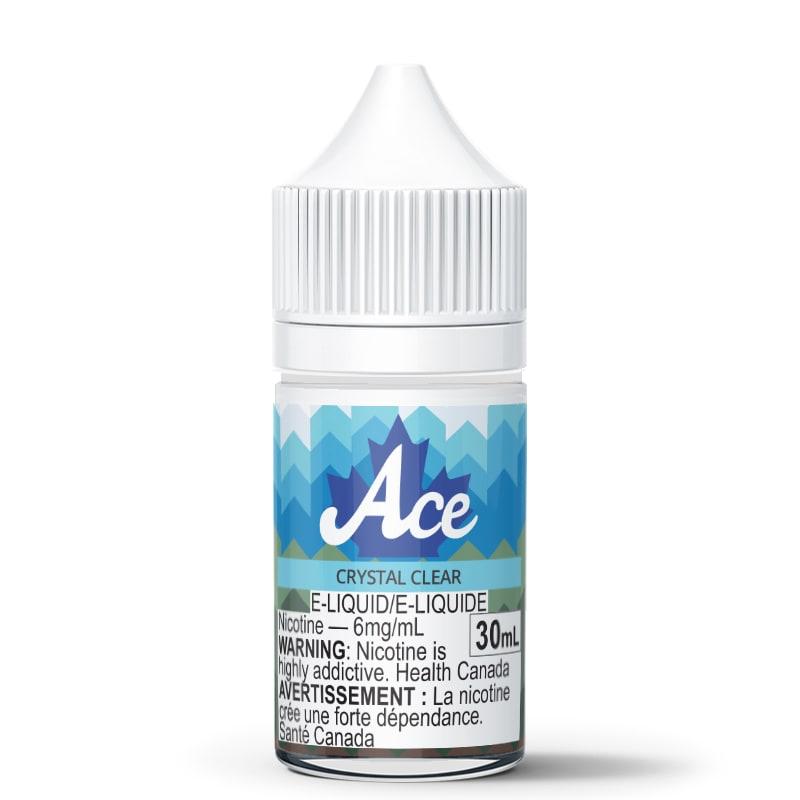 Crystal Clear (Flavorless) E-Liquid - Ace (30mL): 6mg/mL
