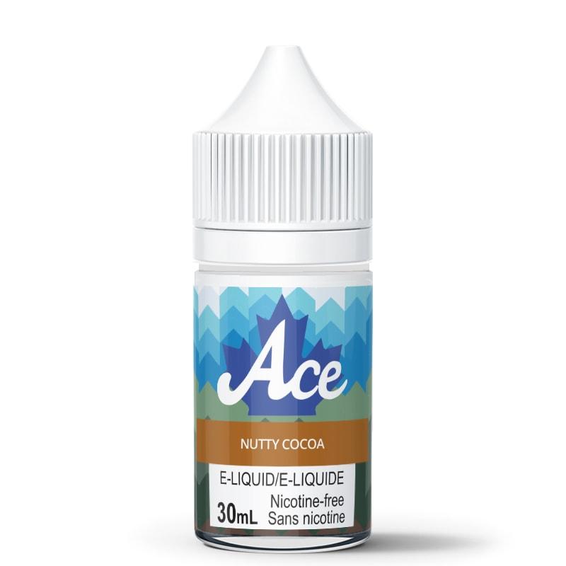 Nutty Cocoa E-Liquid - Ace (30mL): 0mg/mL