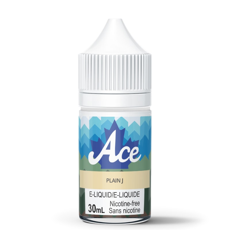 Plain J E-Liquid - Ace (30mL): 0mg/mL