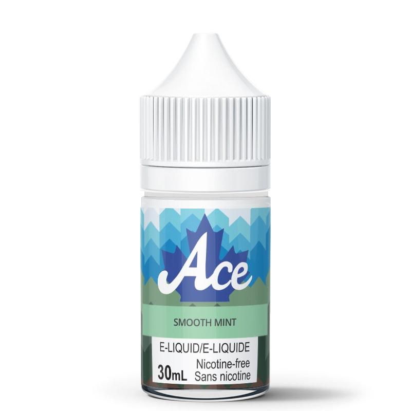 Smooth Mint E-Liquid - Ace (30mL): 0mg/mL