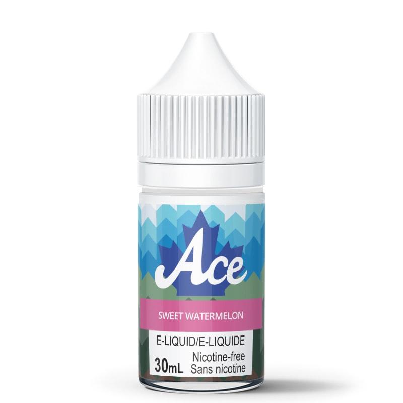 Sweet Watermelon E-Liquid - Ace (30mL): 0mg/mL