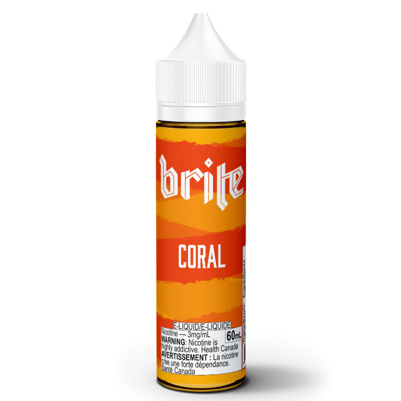 Coral E-Liquid - Brite (60mL): 3mg/mL