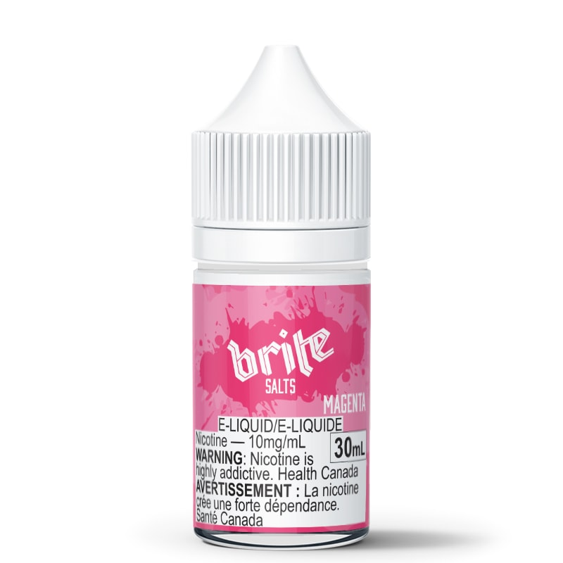 Magenta Nic Salt - Brite (30mL): 10mg/mL