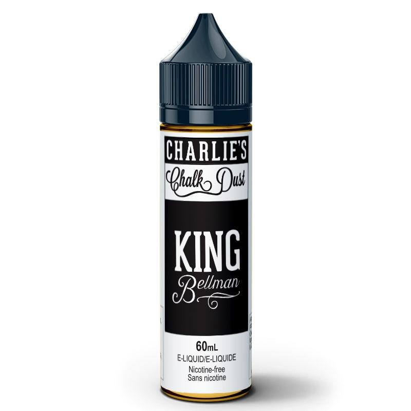King Bellman E-Liquid - Charlie's Chalk Dust (60mL): 0mg/mL