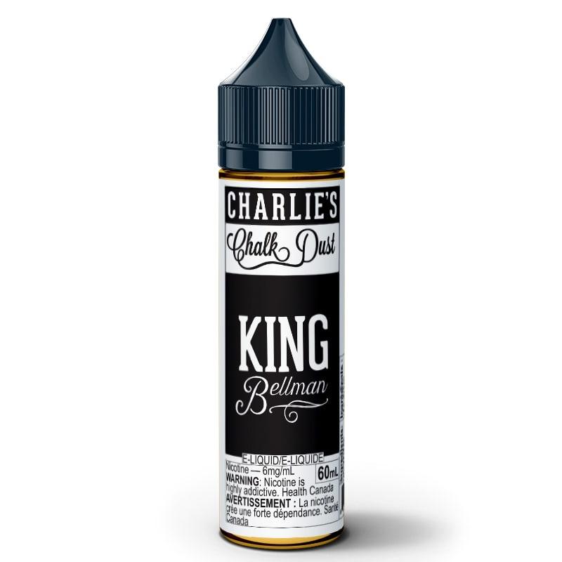 King Bellman E-Liquid - Charlie's Chalk Dust (60mL): 6mg/mL