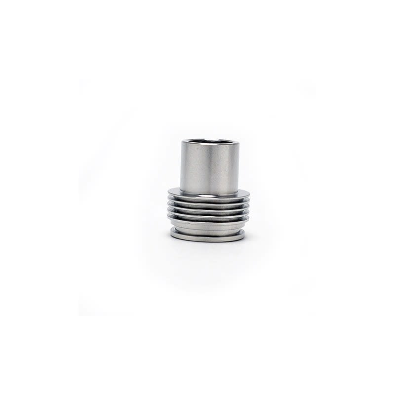 Chuff Enuff Top Cap Drip Tip Stainless Steel