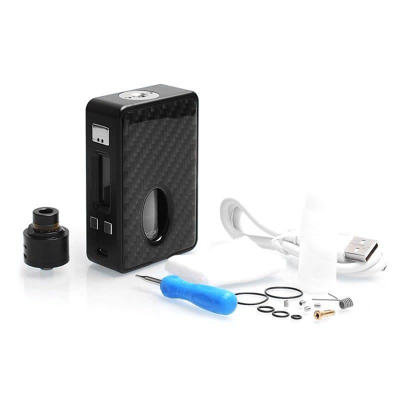HCigar VT Inbox DNA75 Squonk Kit - Black (+ Accessories)