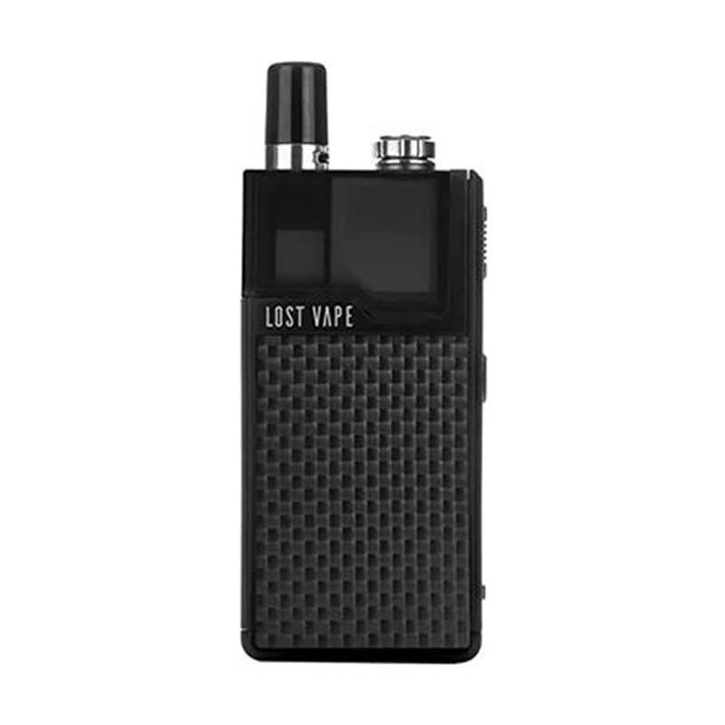 Orion DNA GO Pod Kit by Lost Vape - Black Carbon Fiber Device + Pod (sold separately)