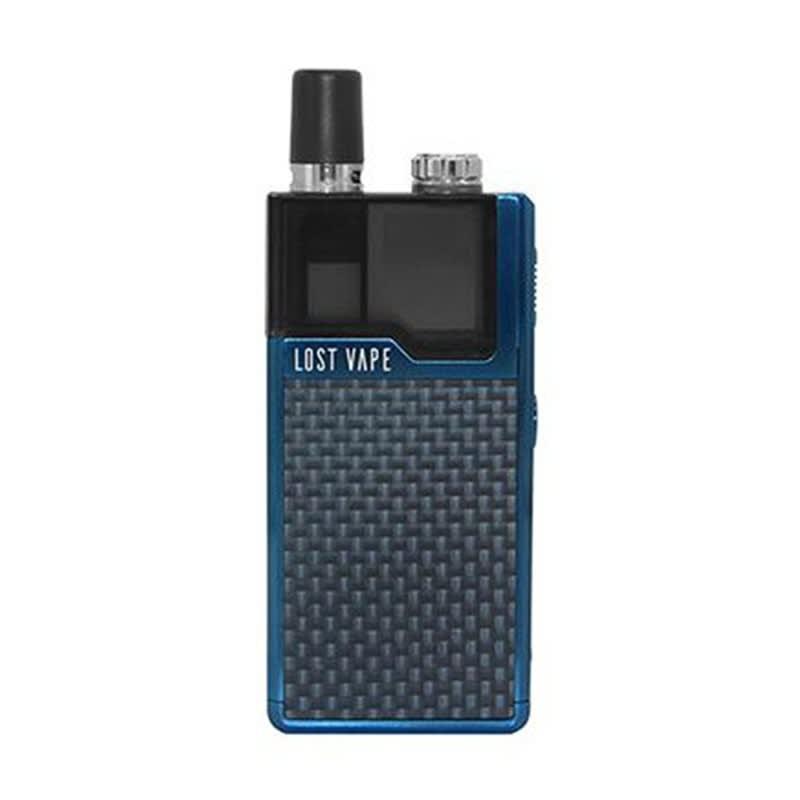 Orion DNA GO Pod Kit by Lost Vape - Blue Carbon Fiber Device + Pod (sold separately)