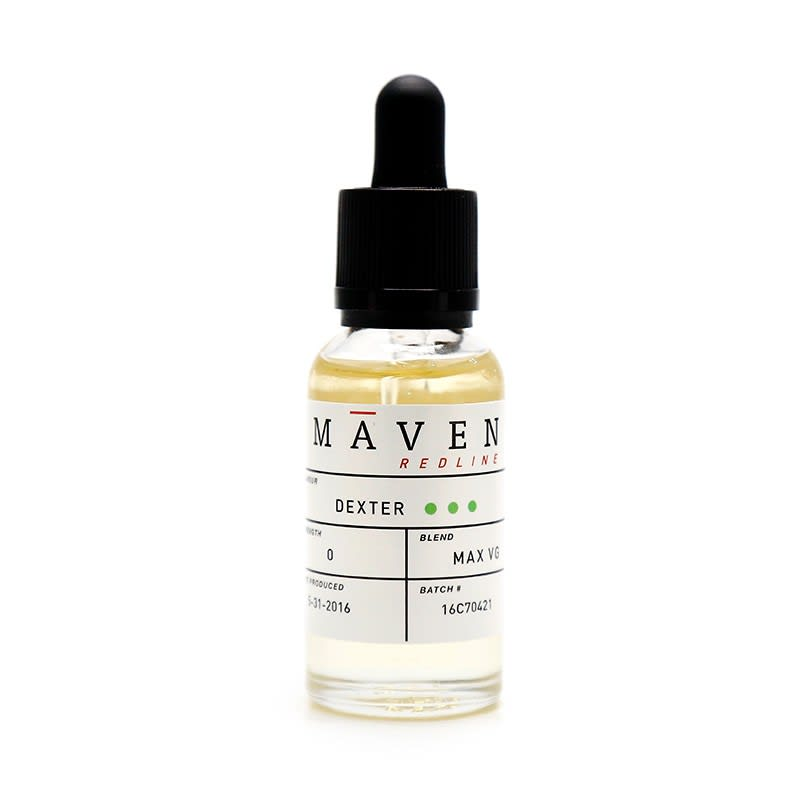 Dexter E-Liquid by Maven Redline - 30ml