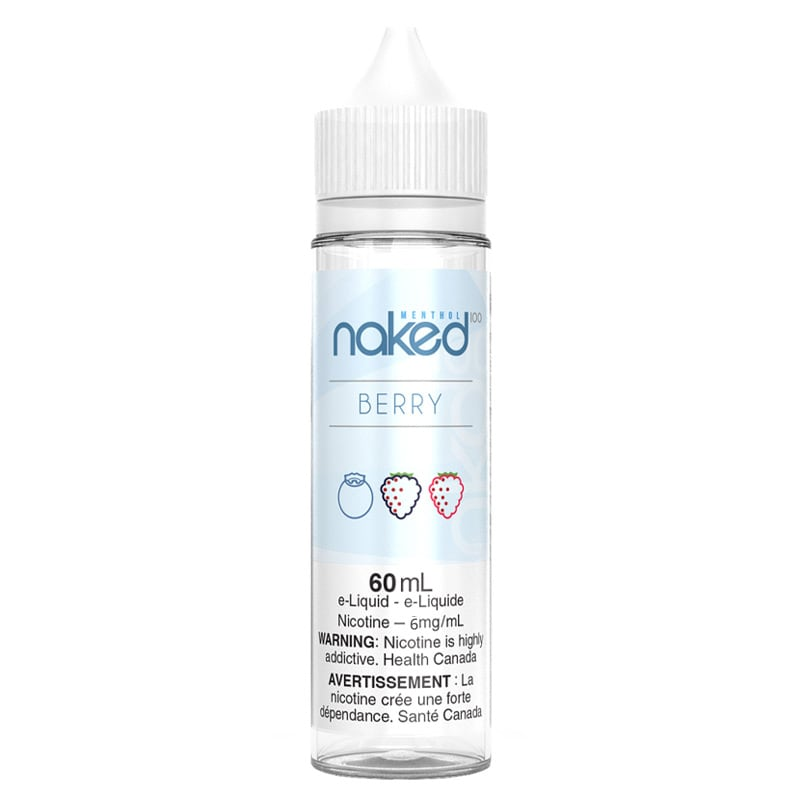 Berry (Very Cool) E-liquid - Naked 100 (60mL) (6mg)