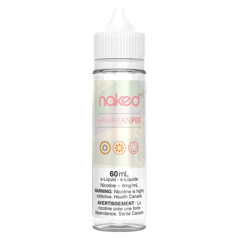 Hawaiian Pog E-Liquid - Naked 100 (60mL) (0mg)