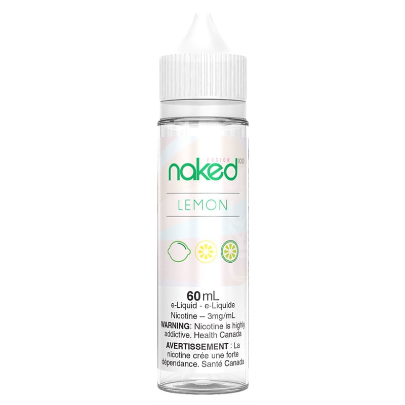 Lemon (Sour Sweet/Green Lemon) E-Liquid - Naked 100 (60mL) (3mg)
