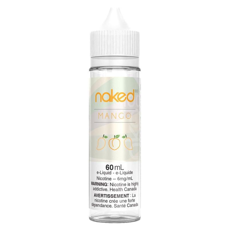 Mango (Amazing Mango) E-liquid - Naked 100 (60mL): 6mg/mL