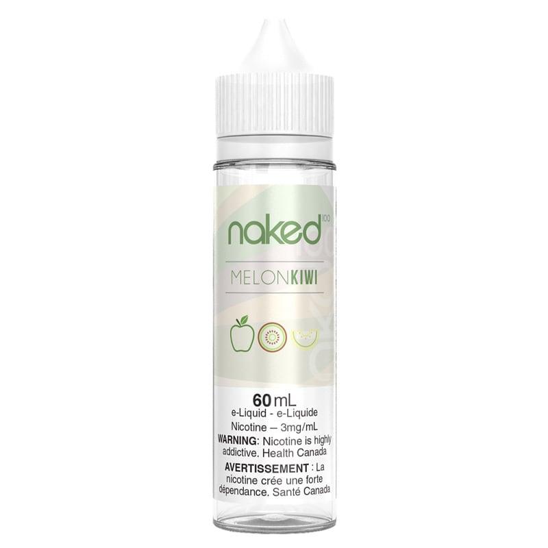 Melon Kiwi (Green Blast) E-Liquid - Naked 100 (60mL) (3mg)