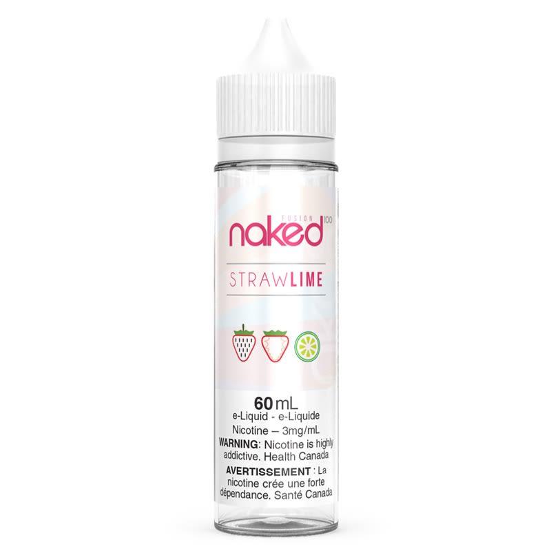 Straw Lime E-Liquid - Naked 100 (60mL)